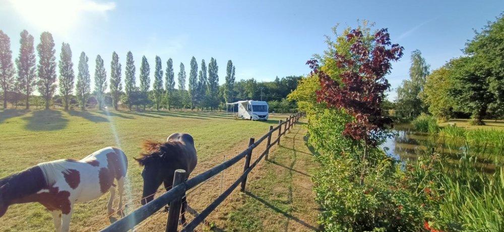 Aire camping-car à Gisay-la-Coudre (27330) - Photo 2